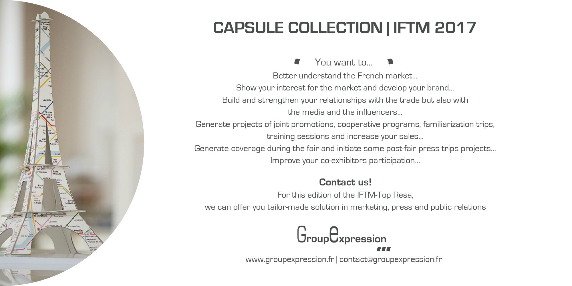 CAPSULE COLLECTION IFTM 2017